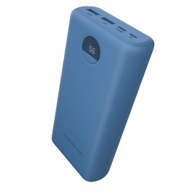 Powerology 30000mAh Hight-Capacity Power Bank 45W - Blue
