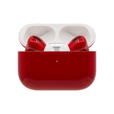 SWITCH PAINTED APPLE AIRPODS PRO WIRELESS - Ferrari Red Gloss