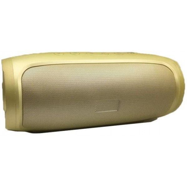 Charge 4 Portable Wireless Bluetooth Speaker Gold
