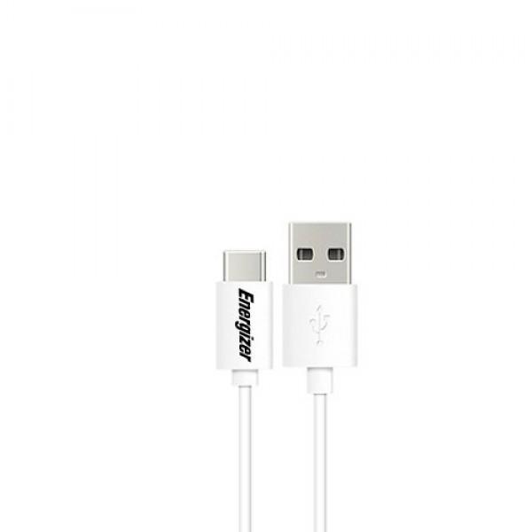Energizer Cable USB-C 2.0 Bicolor 1.2M White