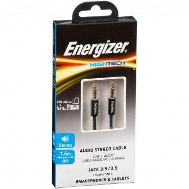 Energizer Audio Jack To Jack Cable 1.5m Black