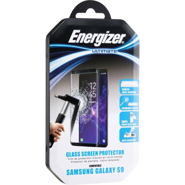 Energizer Ultimate Screen Glass Ul 3D Samsung S9 Black MB
