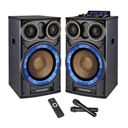 Sonashi SPS-7612 2.0ch Active Professional Speakers 15000W
