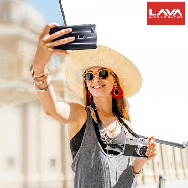 Lava R5 Smartphone, 128GB, 6GB RAM, 4G LTE, Black