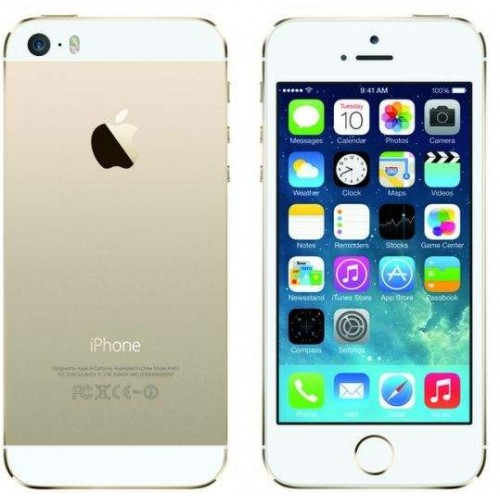 Apple iPhone 5S with FaceTime 16GB 4G LTE Gold,Certified Pre-Owned