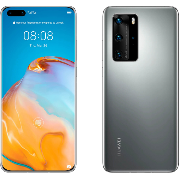 Huawei P40 Pro Smartphone 5G, Silver