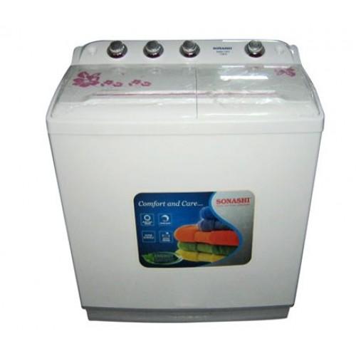 Sonashi swm-1002 10Kg Top Loading Semi Automatic Washing Machine
