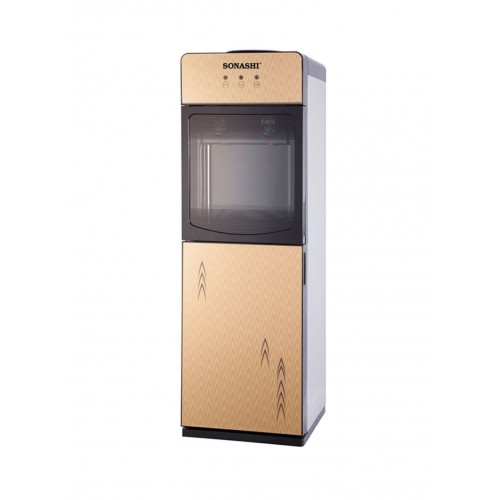 Sonashi Swd-43 Water Dispenser Hot & Cold With Refrigerator Cabinet