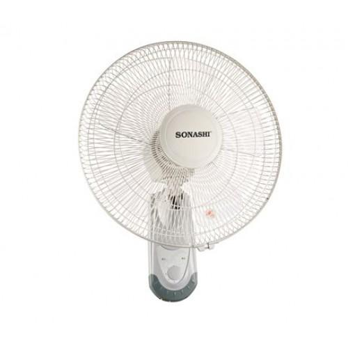 "Sonashi sf-8029w  16"" Wall Fan (Gray)"