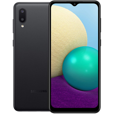 Samsung Galaxy A02 Smartphone Dual Sim 32GB 2GB RAM 4G LTE Black