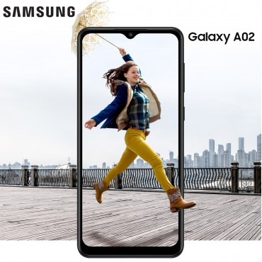 Samsung Galaxy A02 Dual Sim 32GB 2GB RAM 13MP 2MP