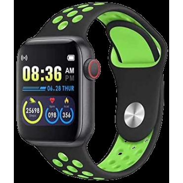 BSNL Smart Watch  W5 Fitness Sports Heart Rate Bracelet Waterproof Green
