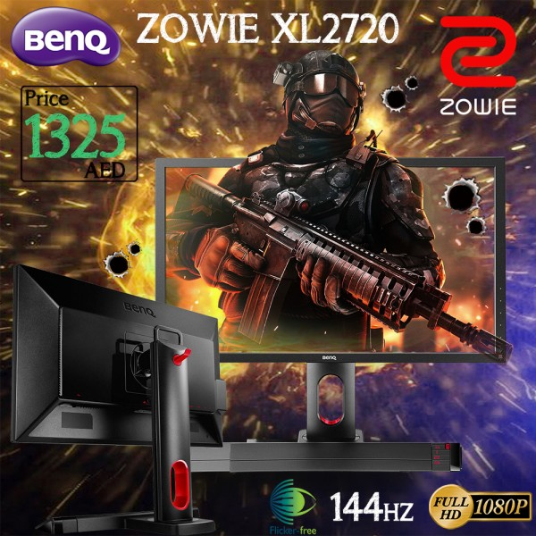 BenQ ZOWIE XL2720 27 inch 144Hz 1ms eSports Gaming Monitor