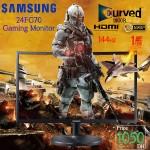 "CFG70 Samsung 24"" Curved Gaming monitor - LC24FG70FQMXZN"