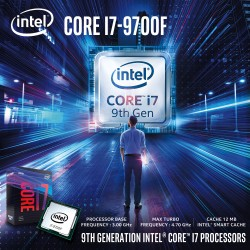 Intel Core i7-9700F Coffee Lake 8-Core 3.0 GHz (4.7 GHz Turbo) LGA 1151 (300 Series) 65W Box