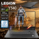 Lenovo Legion Y540 Core i7-9750H, 16GB Ram, 1TB+128GB SSD, 4GB GTX_1650-G5, DOS, Kb- English Arabic Gaming Laptop, 15.6inch FULL HD 144Hz BLACK