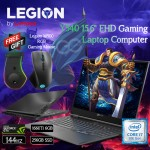 Lenovo Legion Y540  Core i7-9750H, 16GB Ram, 1TB+256GB SSD, 6GB GTX_1660_TI__G6, DOS, Kb- En Gaming Laptop, 15.6inch FULL HD BLACK