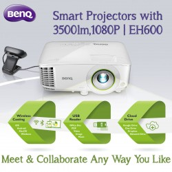 BenQ Smart Projectors with 3500lm,1080P EH600