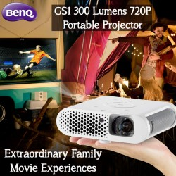 BenQ GS1 300 Lumens 720P Portable Projector