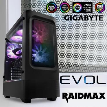 Raidmax EVOL Computer Case - Black