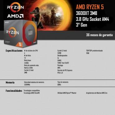 AMD Ryzen™ 5 3600XT 3.8GHz 32MB Cache AM4 L3 CPU