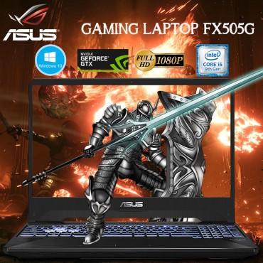 "Asus Gaming Laptop FX505G 9th Gen I5-9300H 8GB RAM 1TB HDD GTX1650 4GB 15.6"" Full HD Screen Windows 10 Black color"