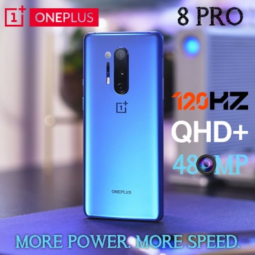 OnePlus 8 Pro Dual Sim 12GB RAM 128GB 5G 48MP+48MP+8MP+5MP
