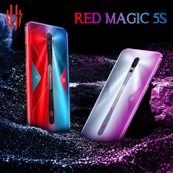 Red Magic 5S Dual SIM 8GB Ram 128 GB 5G 64MP+8MP+2MP