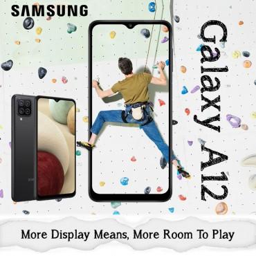 Samsung Galaxy A12 Dual SIM 4GB RAM 64GB 48MP+8MP+2MP+2MP