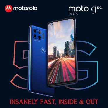 Motorola Moto G Plus 5G Dual Sim 8GB RAM 128GB 48MP + 8MP + 2MP