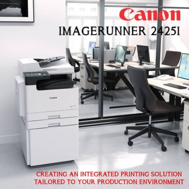 Canon imageRUNNER 2425i All-In-One Printer White A3 Monochrome Laser Multifunctional Print, Copy, Scan
