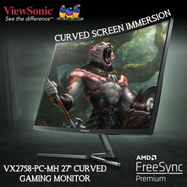 "ViewSonic VX2758-PC-MH 27"" Curved Gaming Monitor"