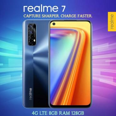 realme 7 Dual SIM 4G LTE 8GB RAM 128GB 64MP 8MP 2MP 2MP