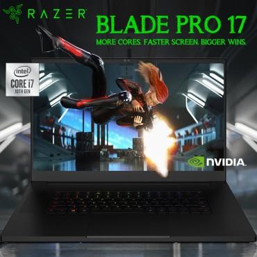 """Razer Blade Pro 17 i7-10875H 16GB 512GB SSD - GeForce RTX 2080 Super Max-Q 17.3"""" Full HD 300Hz - Black RZ09-03295E42-R3U1"""