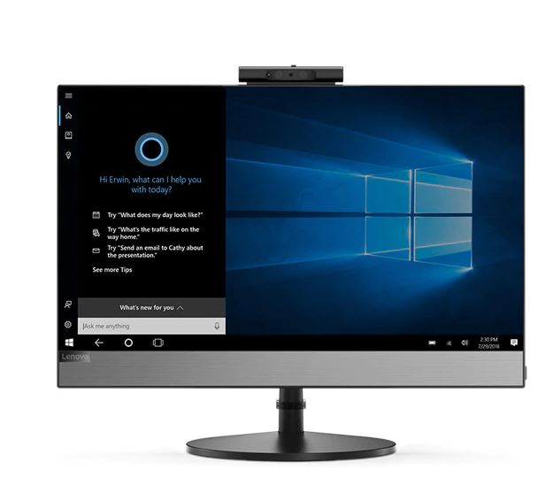 Lenovo V530 AIO comes with Cortana, your very own digital assistant.