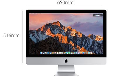 Apple iMac MNE92LL/A Desktop Physical Features